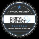 digital district membership badge
